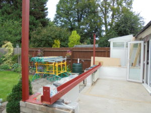 Conservatory conversion frame